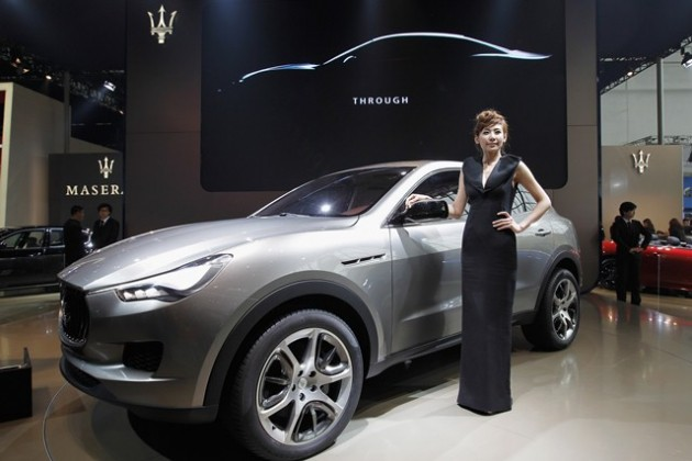 Maserati Levante - Lintao Zhang - Getty Images