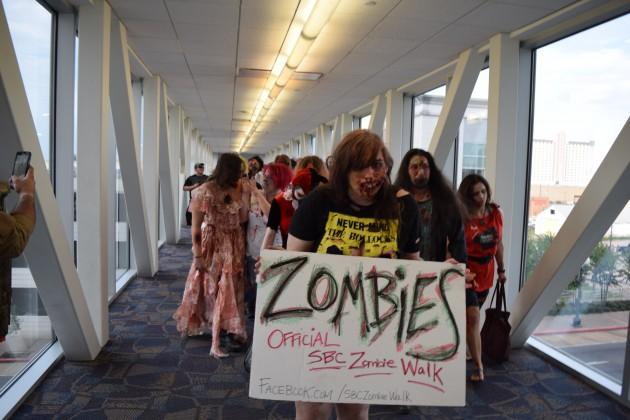 Geek'd Con Zombie Walk
